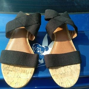 Lucky brand Hunter wedge sandals